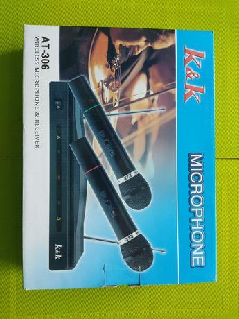 Mikrofony bezprzewodowe, karaoke