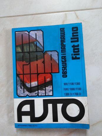Książka Fiat Uno - obsługa i naprawa