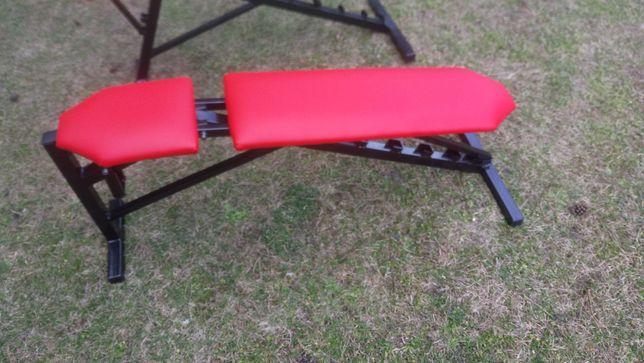 Ławka /ławeczka do ćwiczeń wielofynkcyjna z w suwka na akcesoria