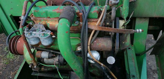 Części silnika John Deere 4219,4239 Wał korbowy,blok silnika,pompa,