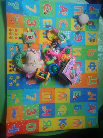 Детский игровой коврик Масик