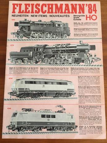 Catálogos de novidades de comboios