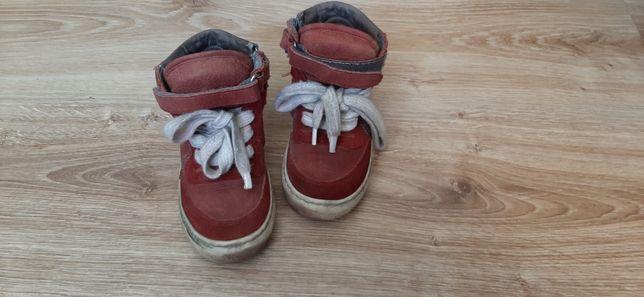 Кеди напівчеревики, шкіряне взуття
