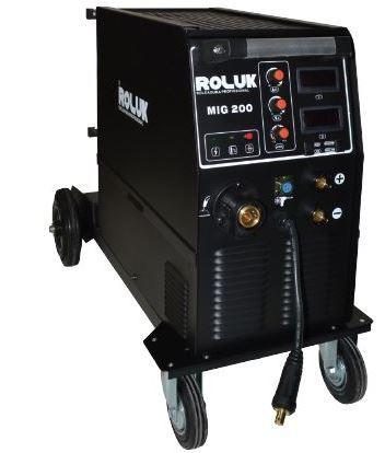 Soldadora/Máquina de Soldar/ Semi Automática MIG MMA 200 AMP Monofásic