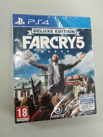 Farcry 5 Deluxe Edition PS4