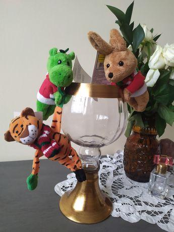 Мягкая игрушка магнит на холодильник: тигр, дракон, кролик
