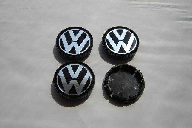 Centros/tampas de jante completos VW Volkswagen