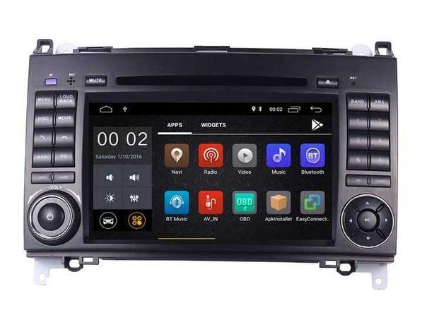 Radio Nawigacja Mercedes ANDROID 10 2GB Sprinter Vito VW LT W906 2DIN