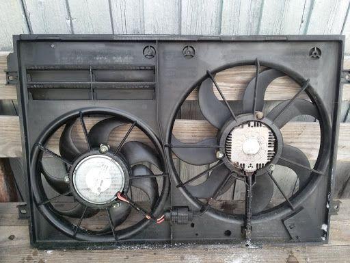вентилятор для Volkswagen Passat B6 B7 CC EOS