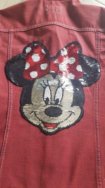 Katana kurtka jeansowa dżinsowa MINNIE /MIKI