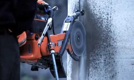 Алмазная резка бетона. Сверление отверствий без шума