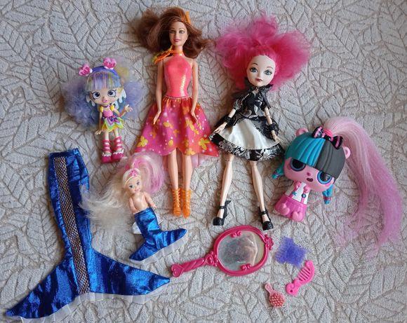 Детские куколки: кукла Барби, Монстер Хай, пупсик