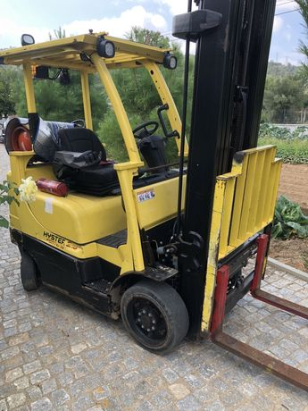 Empilhador hyster  2,5t a gas 2012