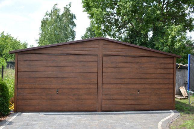 PROMOCJA !Nowoczesny garaż blaszany 6x5 wzmocniony, bez pozwoleniania