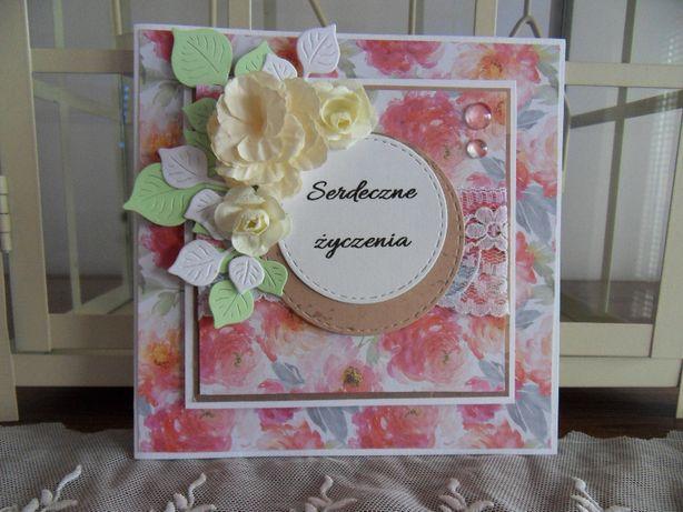 Kartka na Dzień Babci, urodziny, imieniny