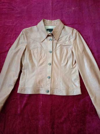 Кожаная куртка Just Cavalli (L)  Burberry Kors Armani Gucci