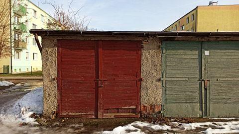 Garaż z kanałem Zamenhofa