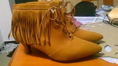 Botki zamszowe firmy The shoes 38 roz Głowno - image 1