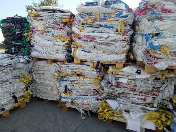 Worki Big Bag Używane 90/90/175cm Z wkładem Foliowym lub bez 1200kg
