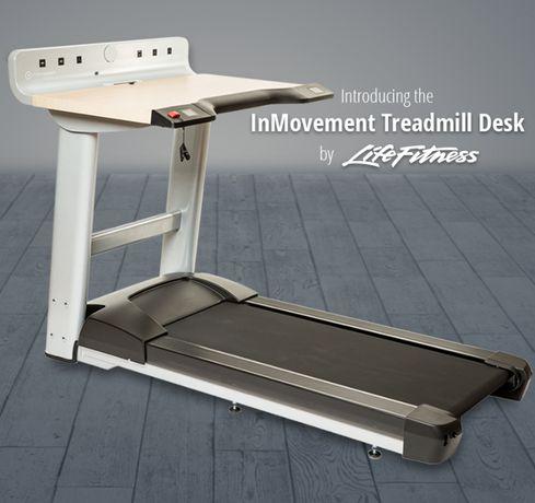 Bieżnia z biurkiem Life Fitness InMovement