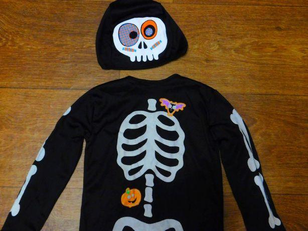 карнавальный костюм 18-24 мес скелет Хэллоуин Halloween 92 размер