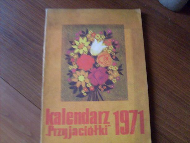 Kalendarz przyjaciółki 1971 rok