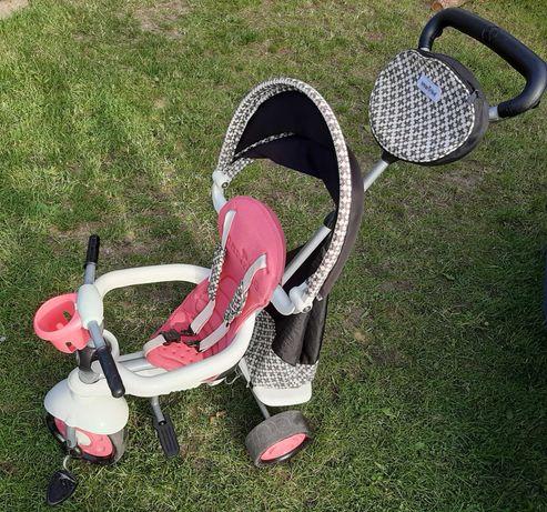 Rowerek trójkołowy 4w1 Smart-trike