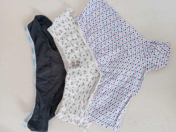 3 x majtki damskie bielizna używane