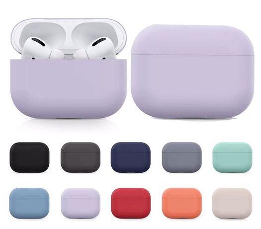 Чехлы силиконовые для Apple Airpods Pro, эпл эирподс, silicone case