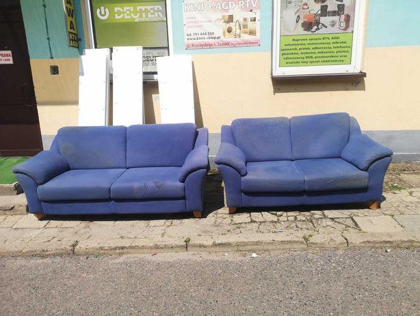Wypoczynek z Niemiec sofa 3-osobowa + 2-osobowa DOWÓZ DO DOMU