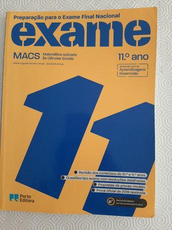 Preparação para o Exame Final Nacional - MACS - Matemática 11°ano