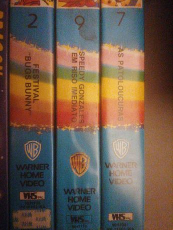 Cassetes VHS warner home