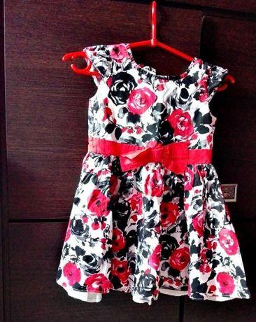 Piękna sukieneczka dla młodej damy