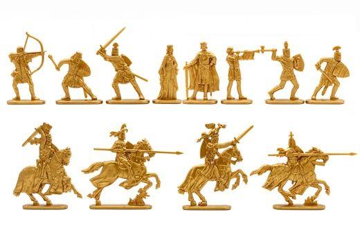 Солдатики. Рыцарский турнир. Новый набор из 12 фигур