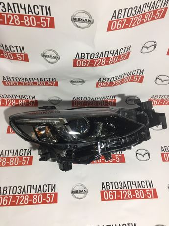 Mazda 6 GJ фары лэд 2016-2017 full led фары бампер решетка усилитель