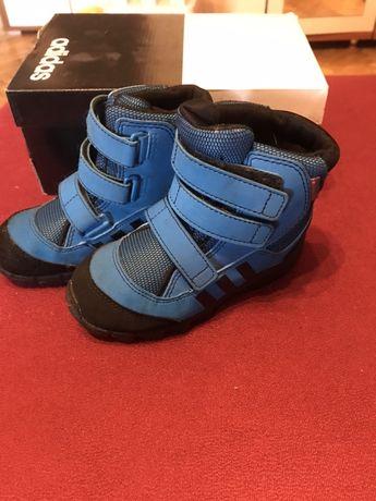 Adidas holtanna snow 25 jak nowe niebieskie zimowe