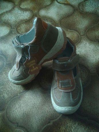 Sandałki półbuty dziecięce skórzane 27