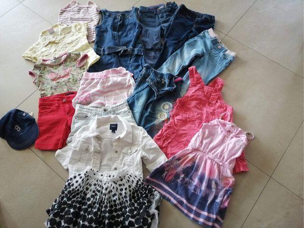 Ubrania dla dziewczynki 110