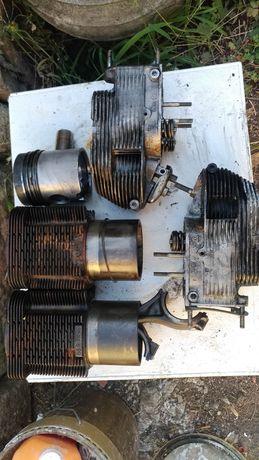 Cunjunto cilindros pistons cambota, culaca deutz
