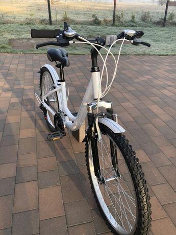 """Rower dzieciecy,damka 24""""Unibike"""