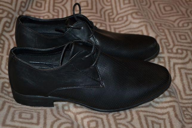новые мужские туфли Beckett 26 см стелька 40 размер Англия