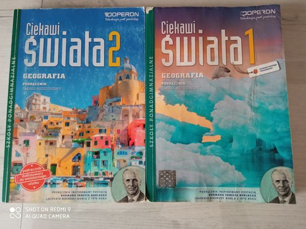Podręcznik geografia Ciekawi świata 1 Operon