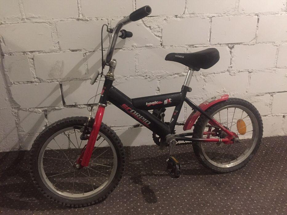 Rower rowerek dziecięcy 16 cali czerwony Bydgoszcz - image 1