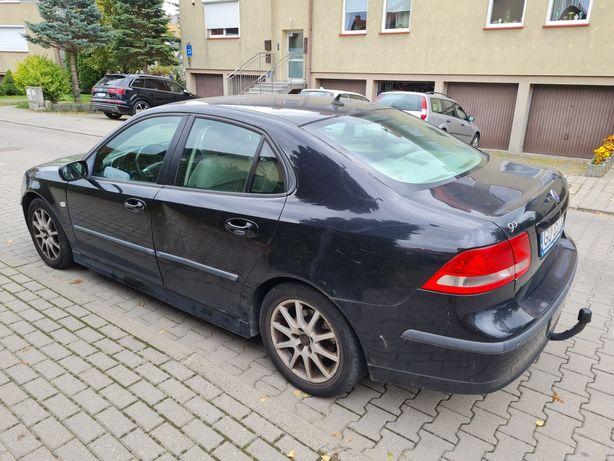 Saab 9-3 uszkodzony