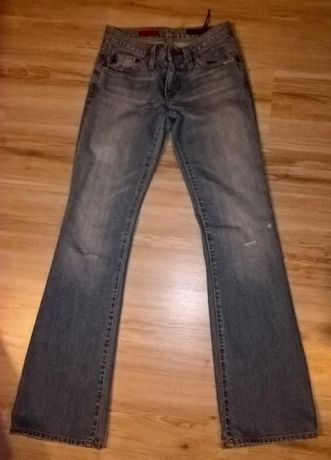 Spodnie jeansowe dzwony Adriano Goldschmied, rozm. 24
