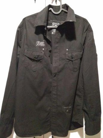 Koszula męska czarna L