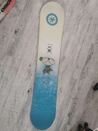 Deska snowboard snowbordowa dziecka 125 cm