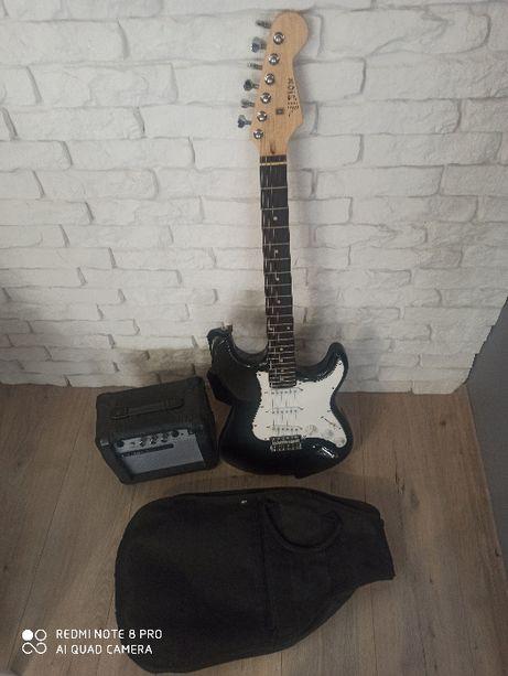 Gitara Elektrczna Vision + wzmacniacz