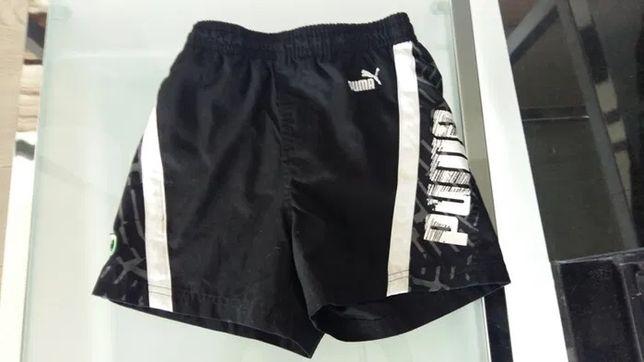 Krótkie spodnie puma rozmiar 128 dla chłopca 8 lat