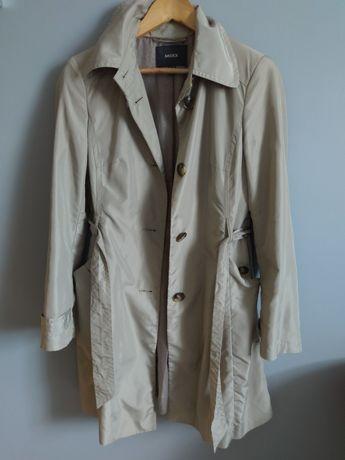 MEXX elegancki jesienny trencz płaszcz beżowy r.36